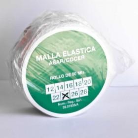 Malla elástica para carne calibre 24 Rollo 50 metros