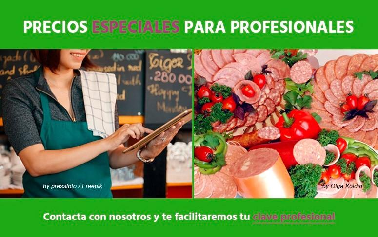 Precios especiales para Profesionales
