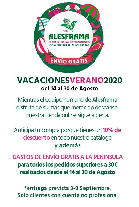 Vacaciones verano 2020